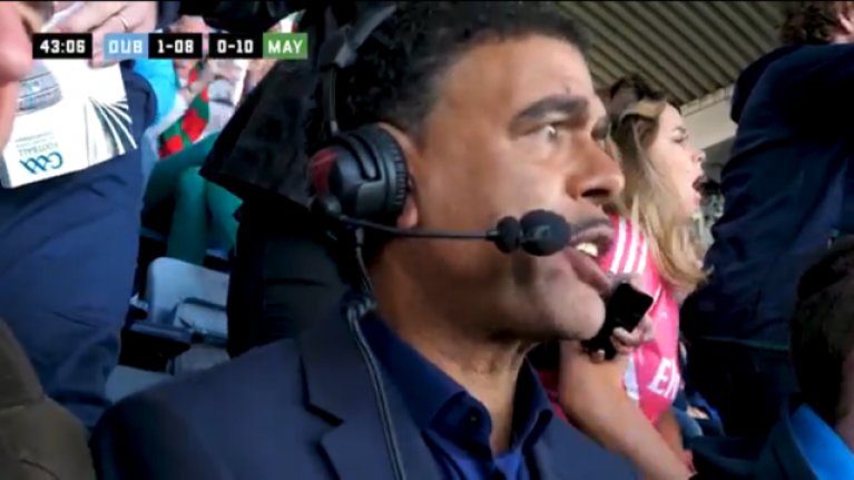 Kammy's name for Andy Moran is the best part of their commentary from Croker