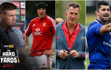 ROG, Stephen Ferris, Rob Penney and Rob Kearney on The Hard Yards