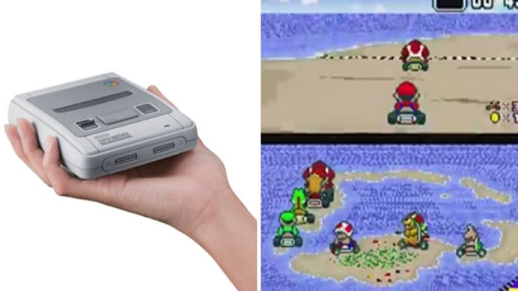 The mini Super Nintendo is here and that is our Christmas present wish-list sorted
