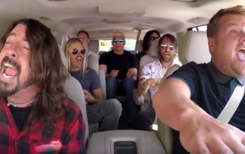 Foo Fighters and James Corden fans will absolutely love their full Carpool Karaoke