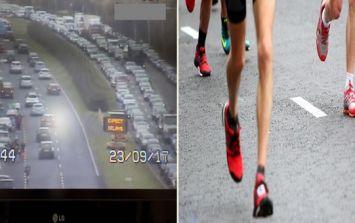 Organisers issue apology as Dublin half marathon delayed due to traffic mayhem