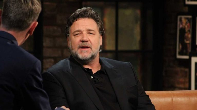 WATCH: Russell Crowe on the time his reading of a Patrick Kavanagh poem was cut by the BBC