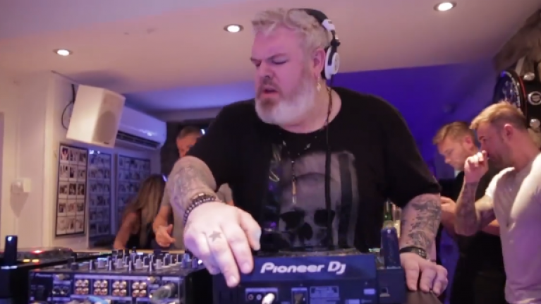 Game of Thrones' Hodor dropping the bass in a DJ booth in Ibiza will make your day