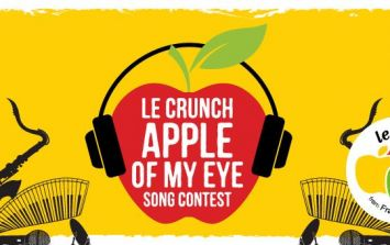 COMPETITION: Enter now to win a €1500 prize in the Le Crunch Apple of My Eye Song Contest