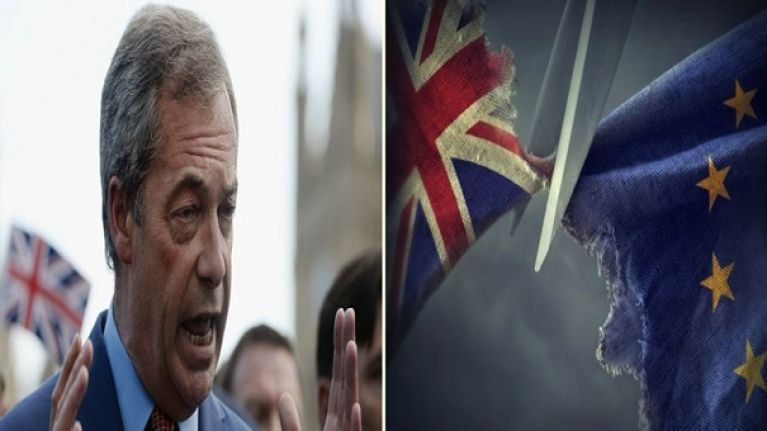 Nigel Farage suggests Ireland could follow in Britain's footsteps with 'Irexit'