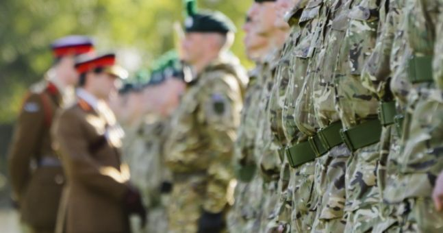 There's been a significant increase in the number of Irish people joining the British Army | JOE ...