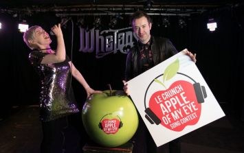 Get tickets to the grand final of Le Crunch Apple of My Eye Song Contest in Whelan's on 23 March