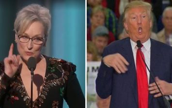 WATCH: Meryl Streep absolutely ripped into Donald Trump during her passionate Golden Globes speech
