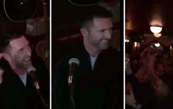 WATCH: Robbie Keane performs a brilliant version of Joxer Goes to Stuttgart in Dublin pub