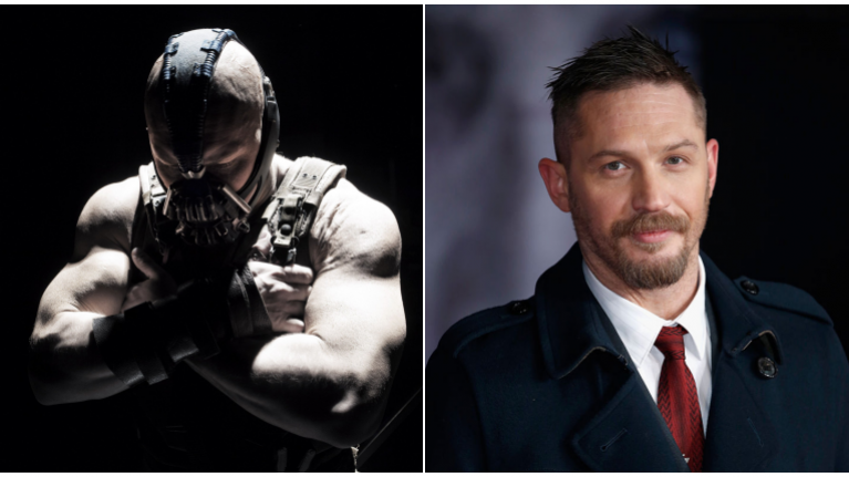 tom hardy reveals the lasting effects bulking up for bane had on his