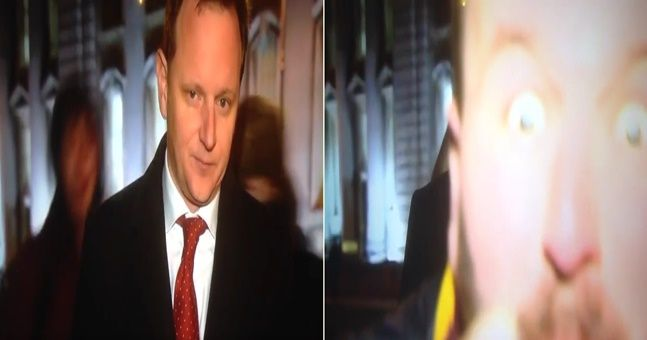 WATCH: Another RTÉ reporter was very rudely interrupted by a gang of messers live on the news