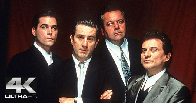 Great news because GoodFellas is being re-released in Ireland