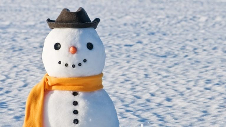 The guards have made one of the best Storm Emma snowmen we've seen so far