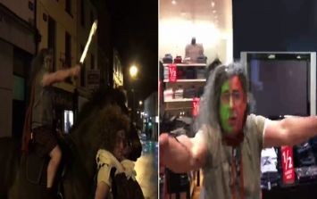 WATCH: Menswear store in Sligo goes all out with Braveheart promo for January sales