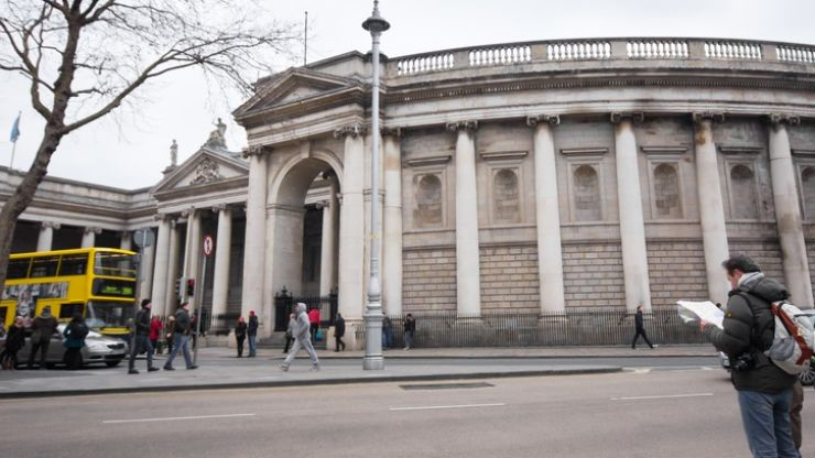 College Green in Dublin to be pedestrianised this weekend