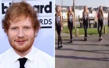 WATCH: These Irish dancers from Galway have a very impressive audition for Ed Sheeran to see