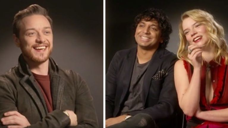 James McAvoy and M Night Shyamalan talk about their creepy