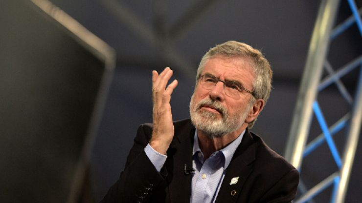 Here's how you can add Gerry Adams on Snapchat