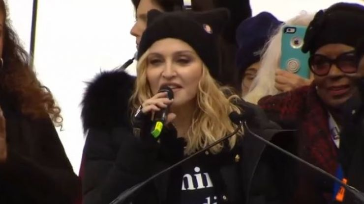 A man is suing because a Madonna concert didn't start on time