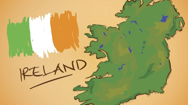 Map Of Ireland And Counties.Quiz Can You Name All 32 County Towns In Less Than 4 Minutes Joe