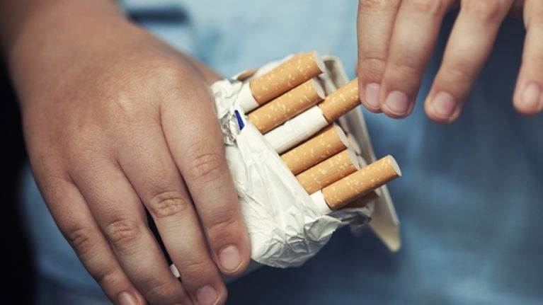 buying a box of cigarettes in ireland could eventually cost 30