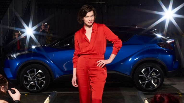 Check out model and Hollywood star Milla Jovovich taking part in this unique and brand new drive-through experience