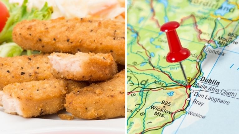PICS: Dublin college students unite because of a missing chicken goujon