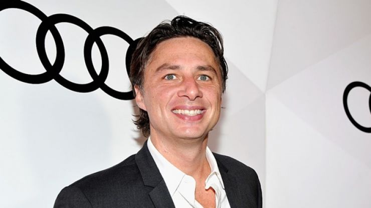 PIC: Everyone else give up now, nobody's beating Zach Braff's Valentine's Day message