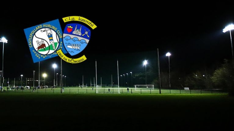 GAA community in complete shock as club player dies at training