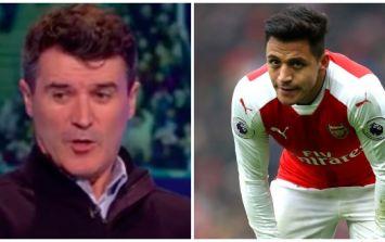 WATCH: Roy Keane went full Roy Keane in his brutal analysis of Arsenal last night