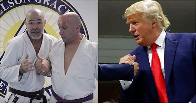 Brazilian Jiu-Jitsu academy teaches defence to Donald Trump's infamous handshake