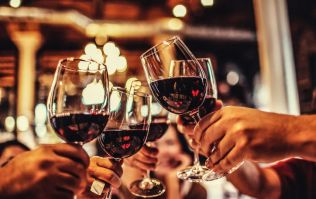 Study says drinking a glass of red wine has the same effect as going to the gym