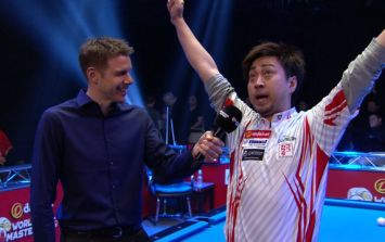 WATCH: World Pool Masters competitor gives bizarre post-match interview