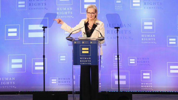 """Meryl Streep responds to Trump's 'over-rated' diss: """"Evil prospers when good men do nothing"""""""