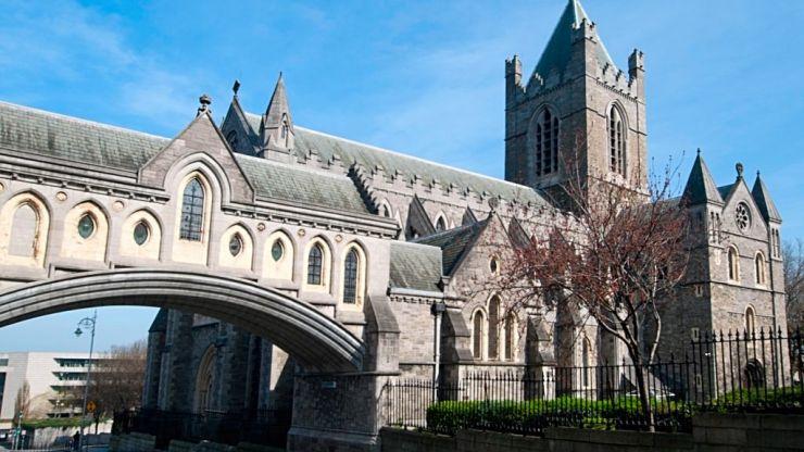 A homeless man has been found dead near Christchurch in Dublin
