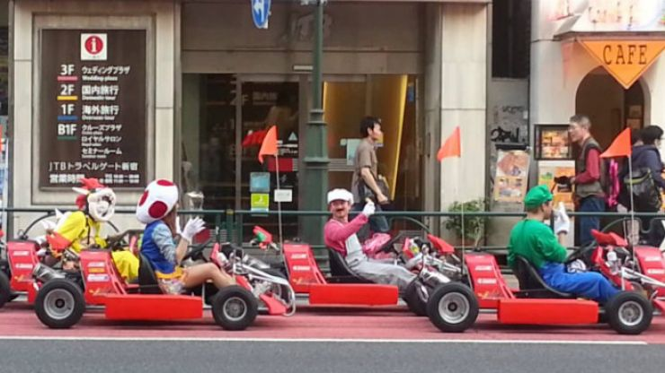 Nintendo suing company for giving real world Mario Kart tours