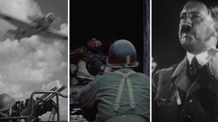 WATCH: Steven Spielberg's new WW2 documentary is on Netflix