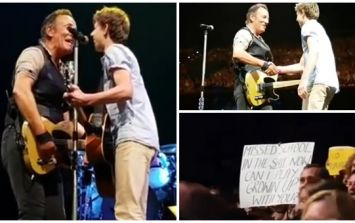 WATCH: Bruce Springsteen invites 14-year old up on stage to join him for amazing duet
