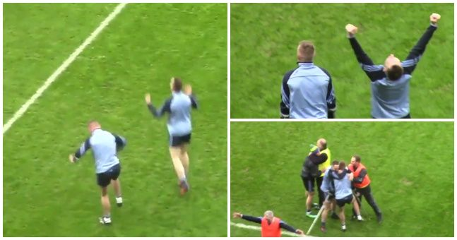 WATCH: An injured Kevin Keane and his brother celebrating All-Ireland glory sums up what makes the GAA great
