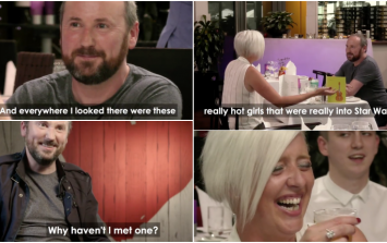 WATCH: Sneak peek at First Dates shows a couple who couldn't be more suited to each other