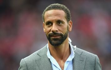 Rio Ferdinand's Saturday morning workout snap will give you all the motivation you need to hit the gym