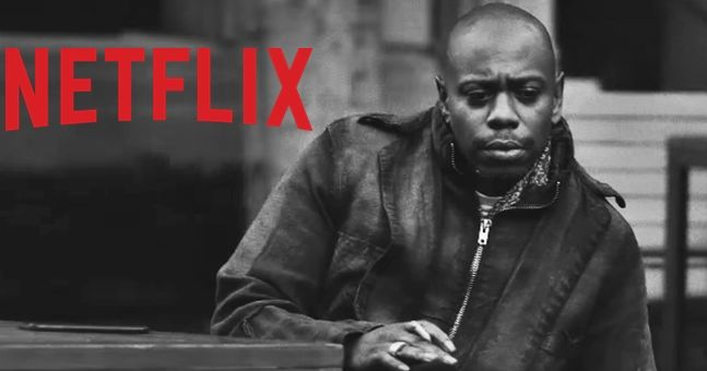 watch the trailer has arrived for dave chappelle 39 s new netflix stand up shows. Black Bedroom Furniture Sets. Home Design Ideas