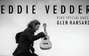 Pearl Jam front-man Eddie Vedder has announced Dublin and Cork gigs with support by Glen Hansard