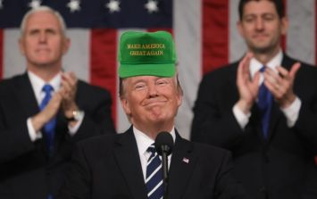 PICS: Donald Trump is selling Irish 'Make America Great Again' caps, but there's one glaring error