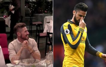 WATCH: This guy on First Dates tonight is the absolute spit of Arsenal footballer Olivier Giroud