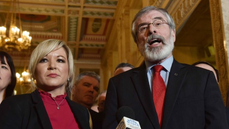 Sinn Féin call for referendum on Northern Ireland leaving the UK