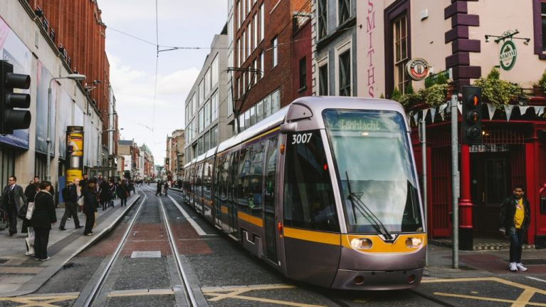 If you were hoping to get home in time using the Luas tonight, we've got bad news