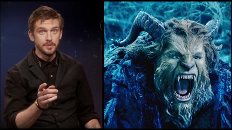 Dan Stevens Star Of The New Beauty And Beast Does A Flawless Father