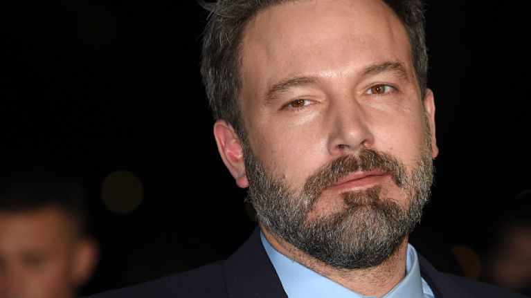 PICS: Folks are having a hard time dealing with Ben Affleck's rather large and intense back tattoo