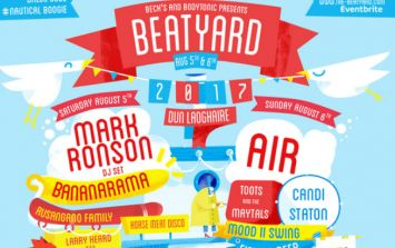 Mark Ronson and AIR headlining Dublin festival The Beatyard this August